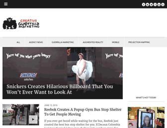 creativeguerrillamarketing.com screenshot