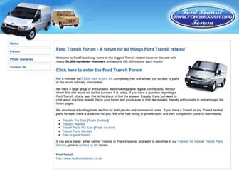 fordtransit.org screenshot