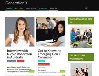 generationy.com screenshot