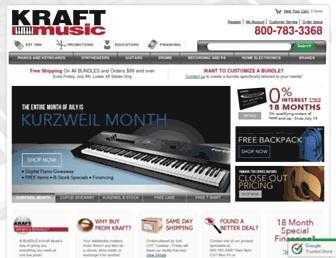 Thumbshot of Kraftmusic.com