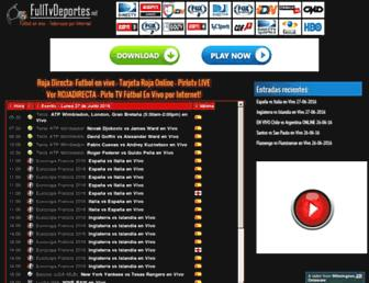 fulltvrojadirecta.net screenshot