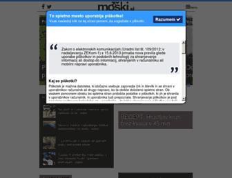 moski.si screenshot