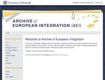 aei.pitt.edu screenshot
