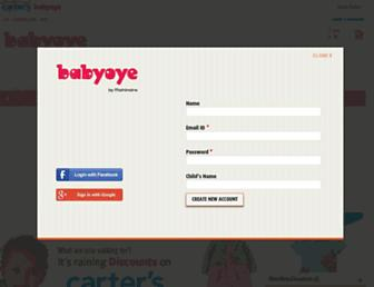 Thumbshot of Babyoye.com