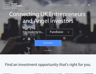 angelinvestmentnetwork.co.uk screenshot