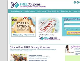 Thumbshot of Freecoupons.com