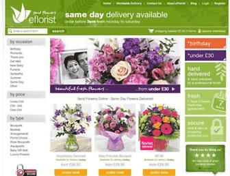 Thumbshot of Eflorist.co.uk