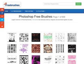 Thumbshot of 123freebrushes.com