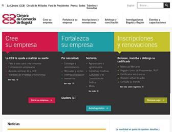 ccb.org.co screenshot
