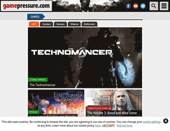 gamepressure.com screenshot