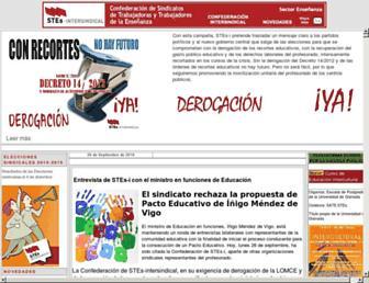 stes.es screenshot