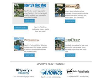 sportys.com screenshot