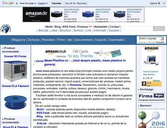 mase-plastice.ro screenshot