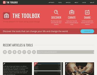 thetoolbox.org screenshot