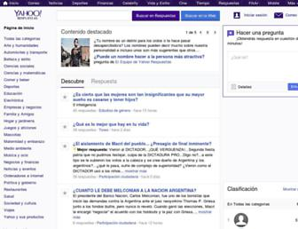 es.answers.yahoo.com screenshot