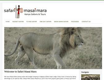 Thumbshot of Safarimasaimara.com
