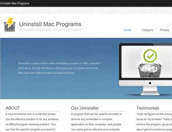 2-macuninstaller.com screenshot