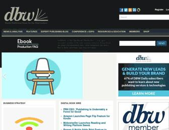 Thumbshot of Digitalbookworld.com
