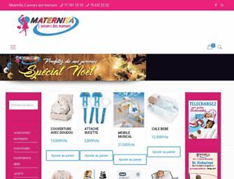 maternitadakar.com screenshot