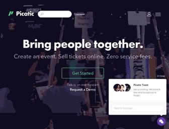 Thumbshot of Picatic.com