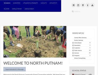 nputnam.k12.in.us screenshot