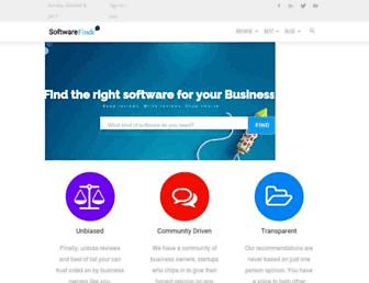 softwarefindr.com screenshot