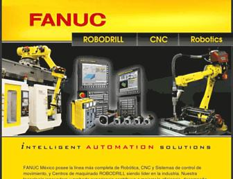 fanucrobotics.com.mx screenshot