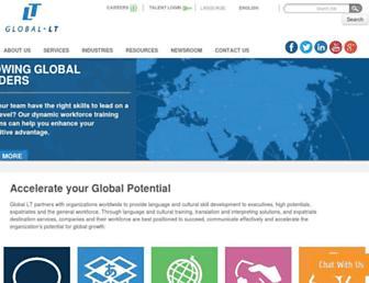 intranet.global-lt.com screenshot