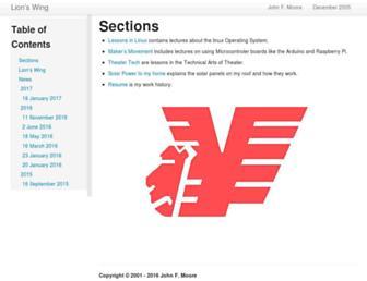 lions-wing.net screenshot