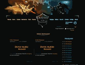 playdota.com screenshot