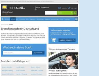 branchenbuch.meinestadt.de screenshot