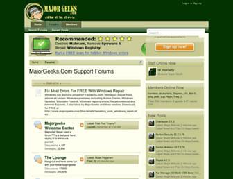 forums.majorgeeks.com screenshot