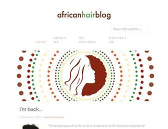 Thumbshot of Africanhairblog.com