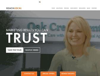 Thumbshot of Reachlocal.net