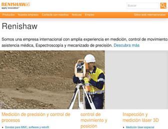 renishaw.es screenshot