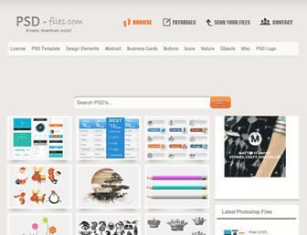 psd-files.com screenshot
