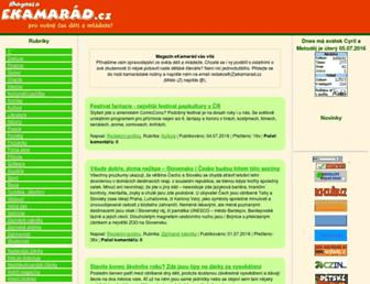 Thumbshot of Ekamarad.cz