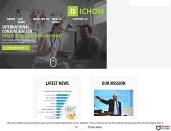 ichom.org screenshot