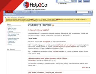 help2go.com screenshot