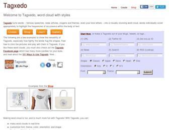 tagxedo.com screenshot