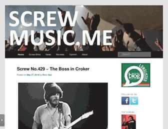 screwmusic.me screenshot