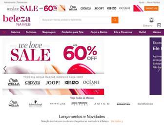 belezanaweb.com.br screenshot
