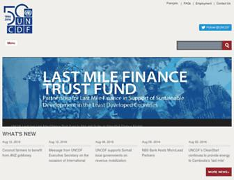 uncdf.org screenshot