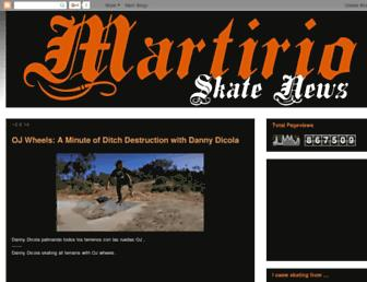 martirioskateboards.blogspot.com screenshot