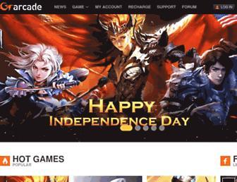 Screenshot for gtarcade.com