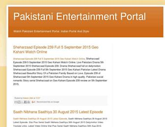 entertainmentportalpk.blogspot.com screenshot