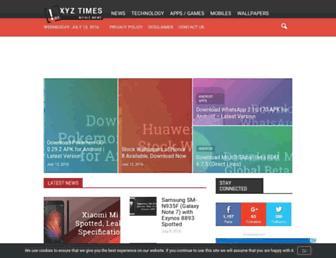 xyztimes.com screenshot
