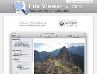 macfileviewer.com screenshot