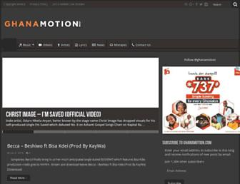 ghanamotion.com screenshot