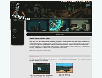 community.mtasa.com screenshot